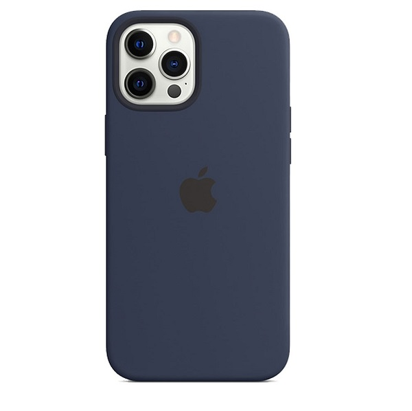 Apple Custodia Magsafe in Silicone per Iphone Pro Max Deep Navy