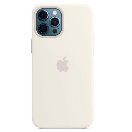 Apple Custodia Magsafe in Silicone per Iphone 12 Pro Max Bianco