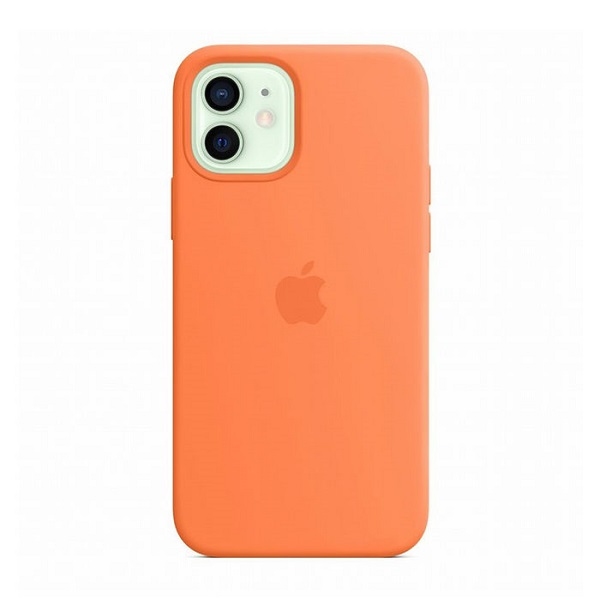 Apple Custodia Magsafe in Silicone per Iphone 12/12 Pro Kumquat
