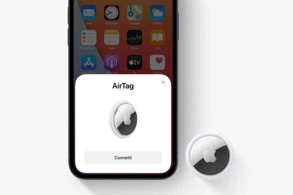 connettere airtag apple