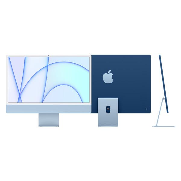 """Apple iMac 24"""" Retina 4,5K M1 8Core Cpu 8Core Gpu 8Gb 256Gb Azzurro"""