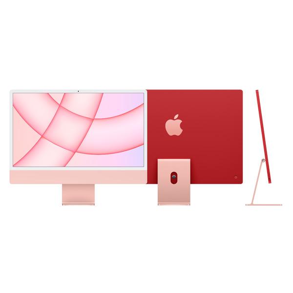 """Apple iMac 24"""" Retina 4,5K M1 8Core Cpu 8Core Gpu 8Gb 256Gb Rosa"""