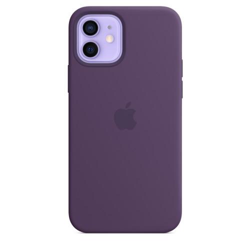 Apple Custodia Magsafe in Silicone per Iphone 12/12 Pro Ametista