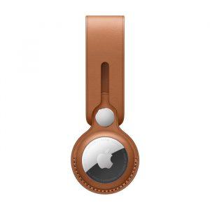 Apple Laccetto Airtag in Pelle Cuoio
