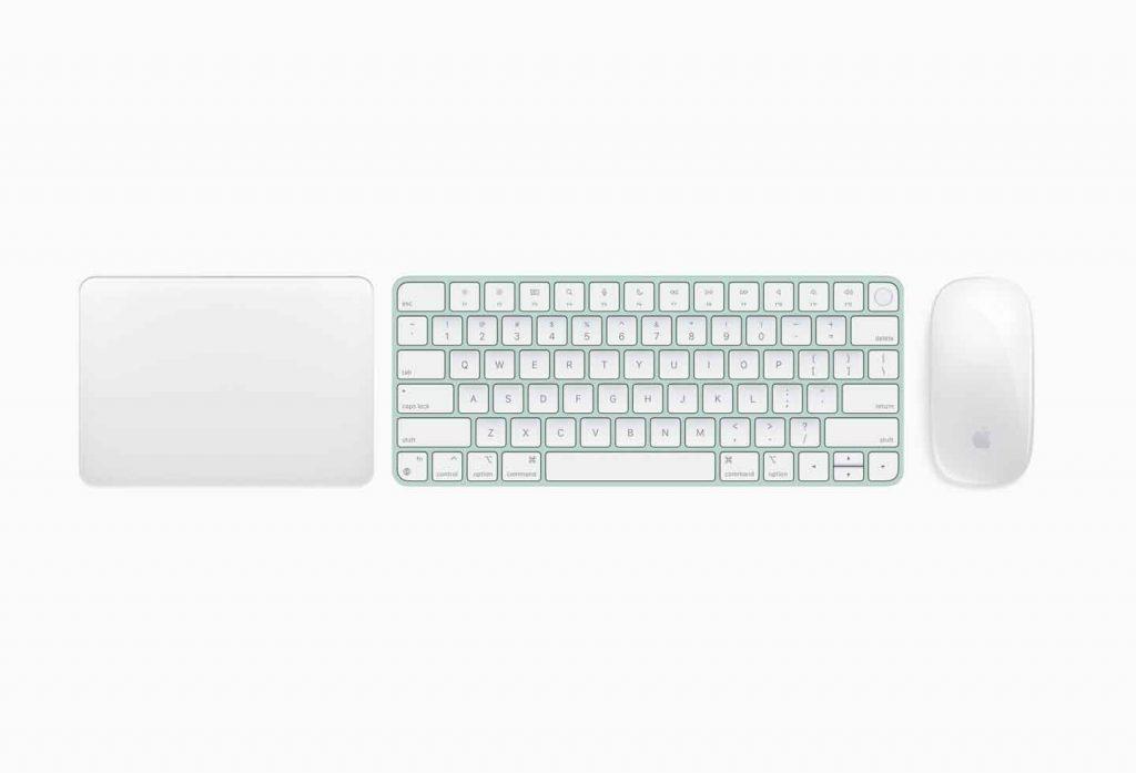 tastiera mouse nuovo imac m1