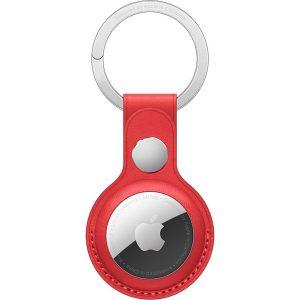 Apple Portachiavi Airtag in Pelle (PRODUCT) RED